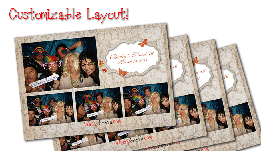 Santa Clara custom photo booth rental