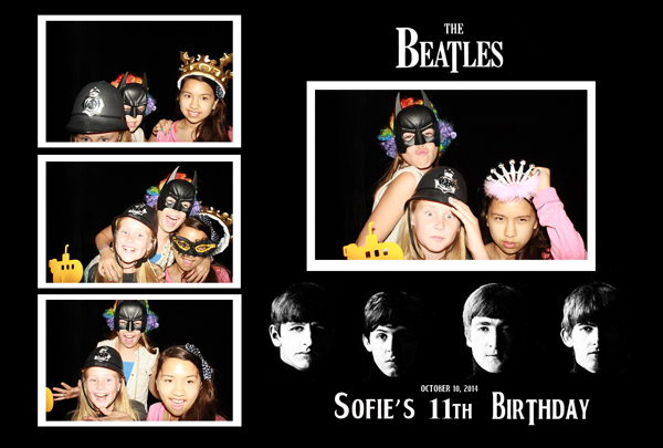 birthday parties photo booth rental palo alto