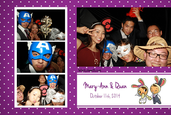 superhero profs of san jose photo booth