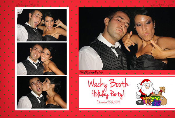 lovely holiday photo booth print designs
